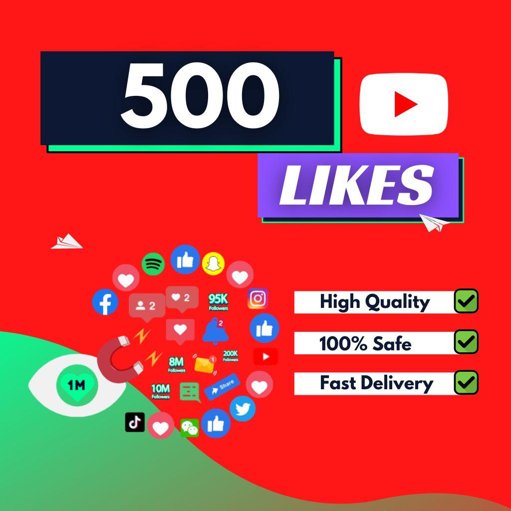 500-YouTube-Likes