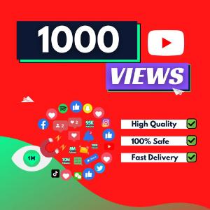 1000 YouTube Views