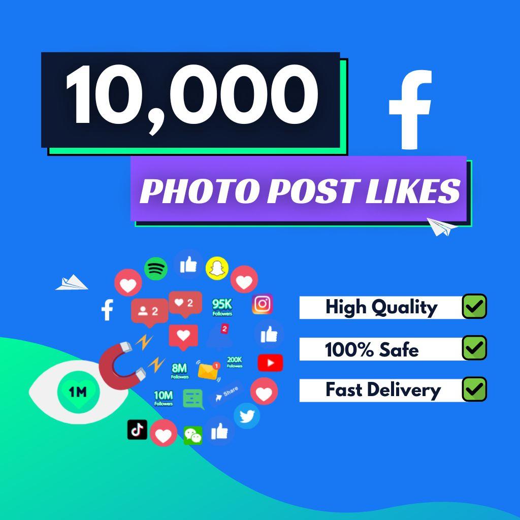 10000 facebook photo likes