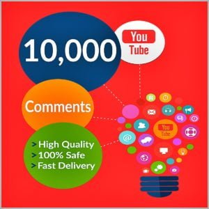 10000 YouTube Comments