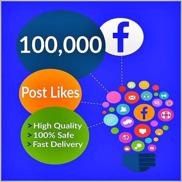 100000 facebook photo likes