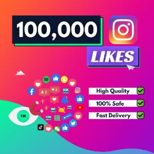 100000 Instagram Likes