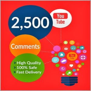 2500 YouTube Comments