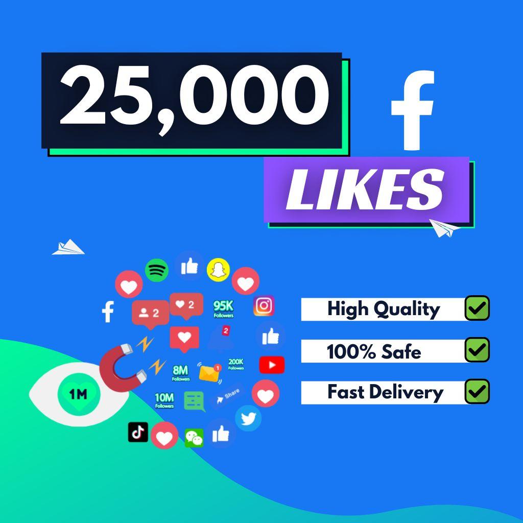 buy 25000 facebook likes
