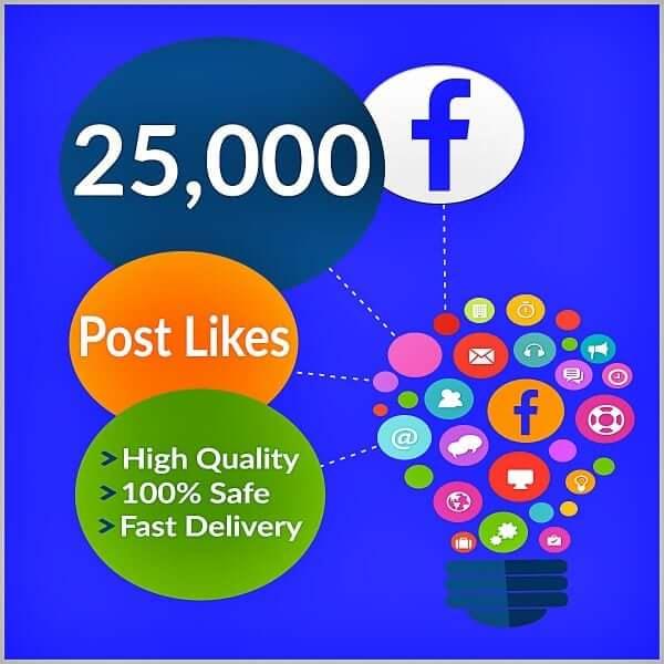 25000 facebook photo likes