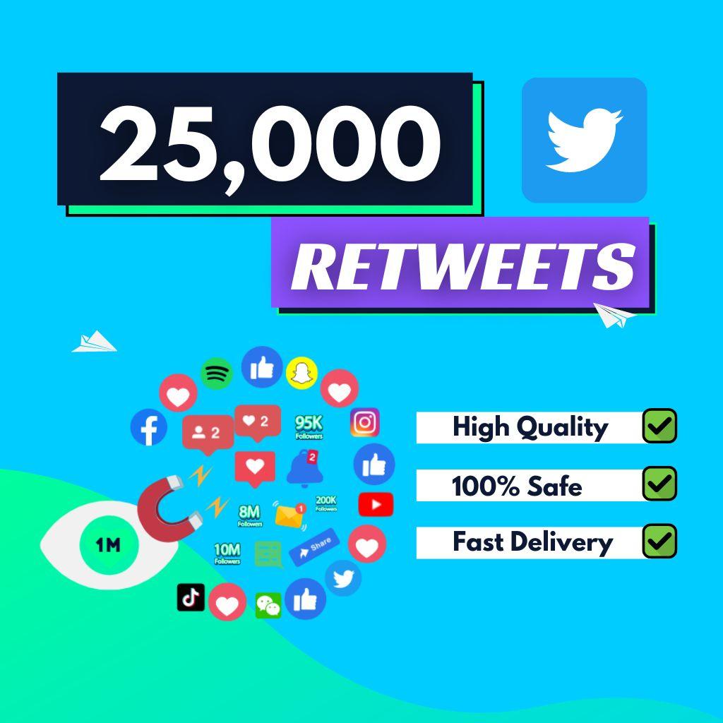 25000-Twitter-Retweets