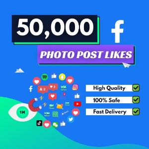 50000 facebook photo likes
