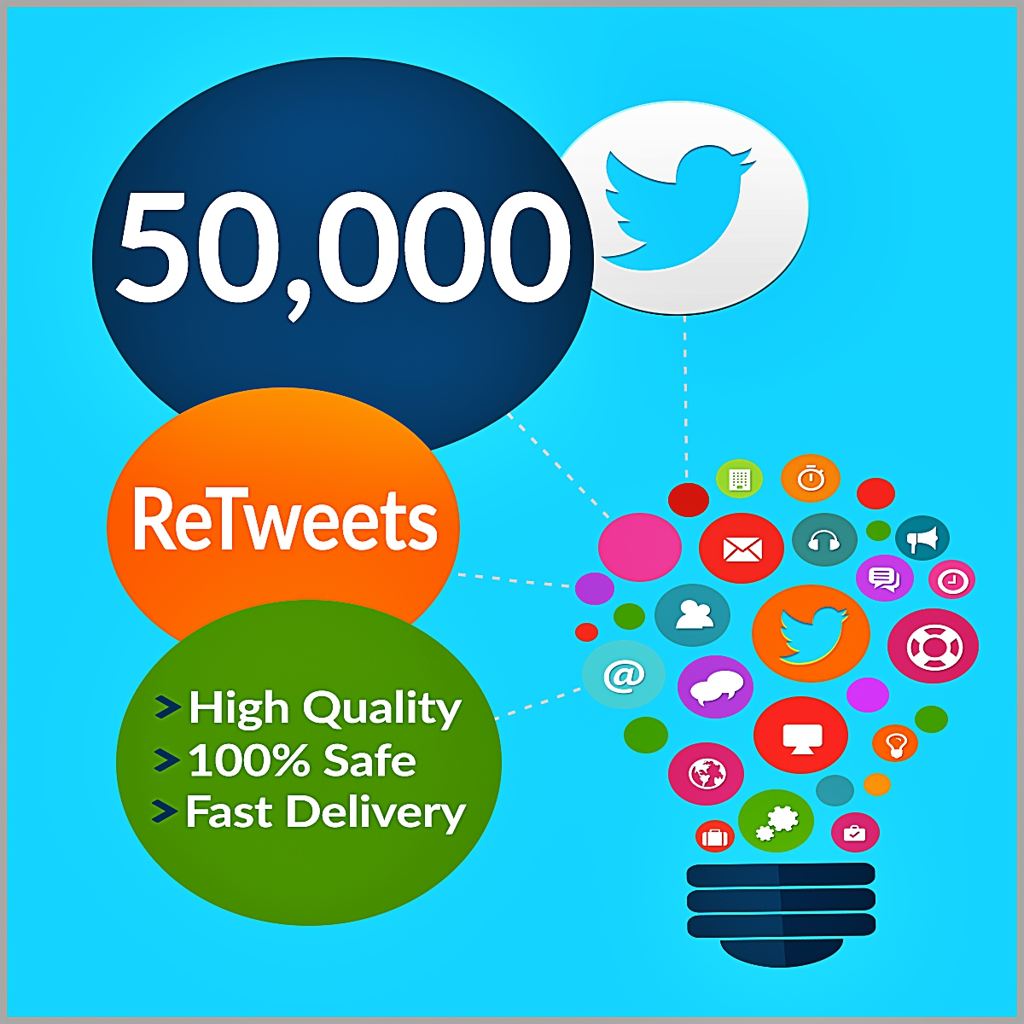 50000-Twitter-Retweets