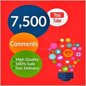 7500 YouTube Comments