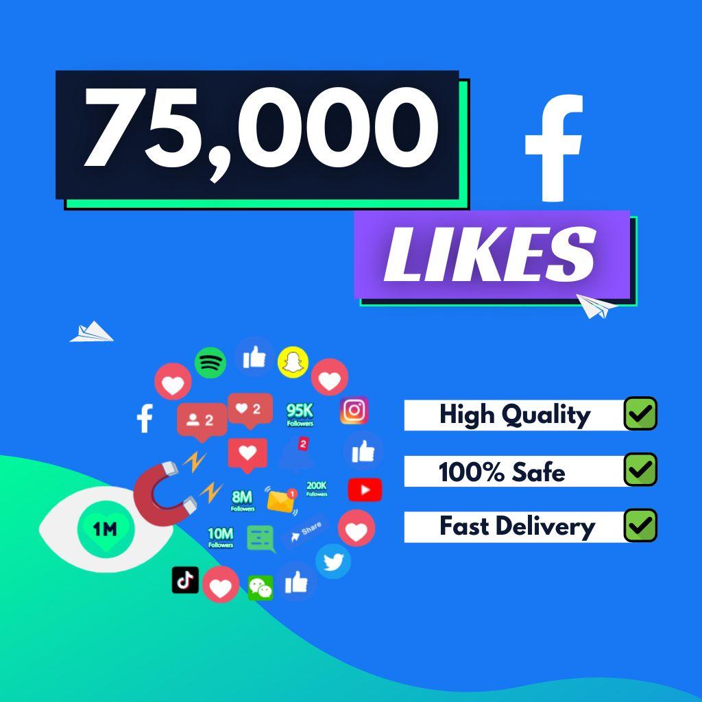 buy 75000 facebook likes