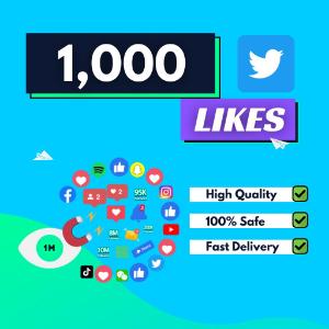 1000 Twitter Likes