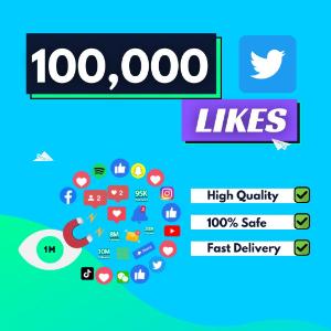 100000 Twitter Likes