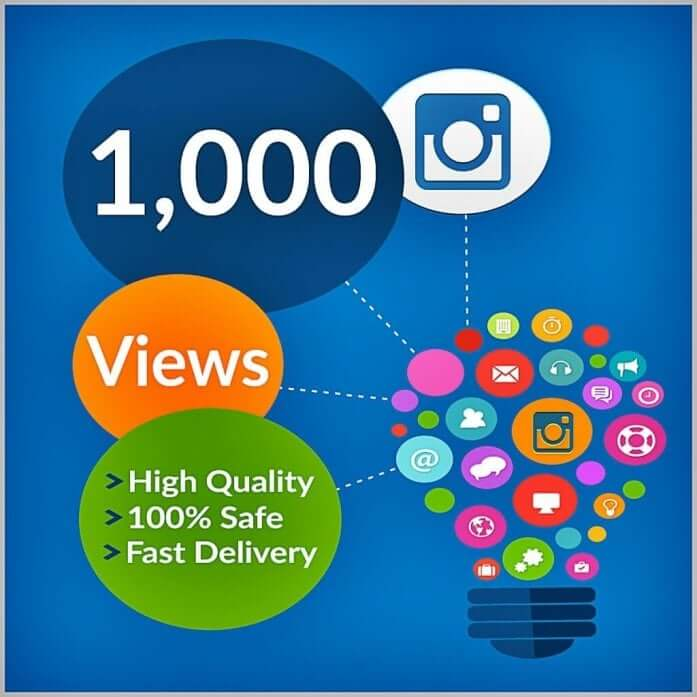 1000 Instagram Views