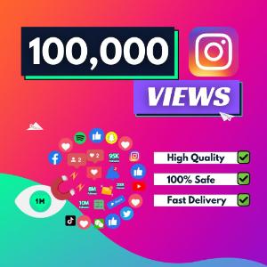 100000 instagram views