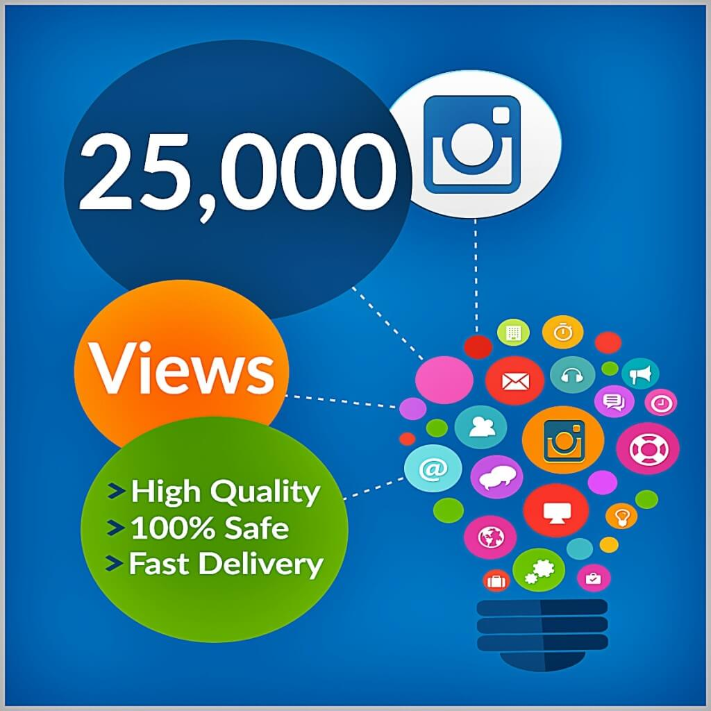 25000 instagram views