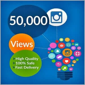 50000 instagram views