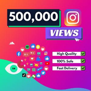500000 instagram views