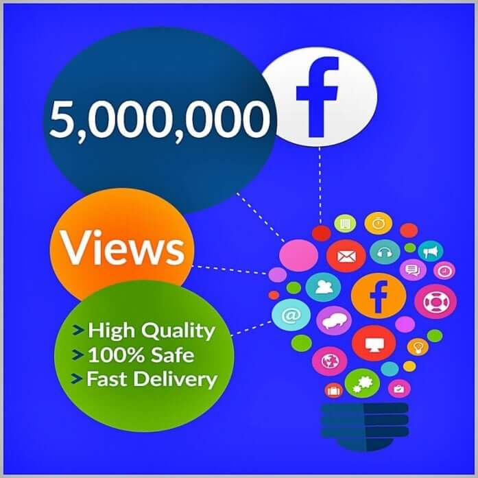 5 million facebook views