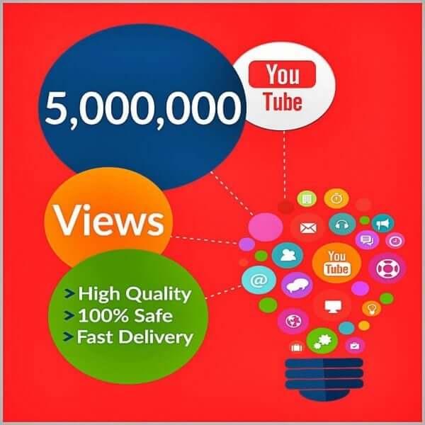 buy 5 million youtube views