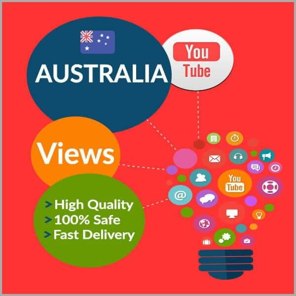 Buy AUSTRALIA YouTube Views