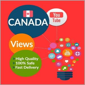 Buy CANADA YouTube Views