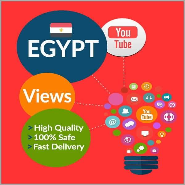 Buy EGYPT YouTube Views