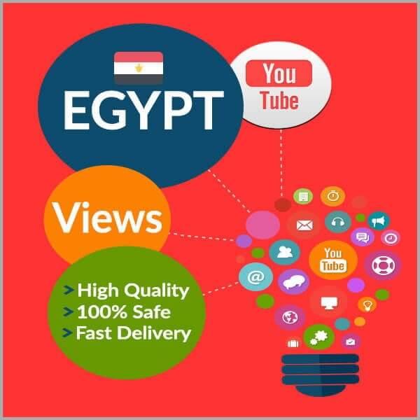 Buy EGYPT YouTube Views
