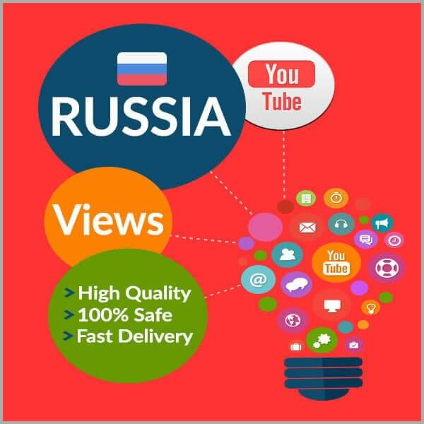 Buy RUSSIAN YouTube Views