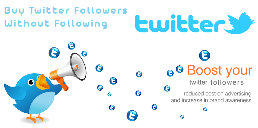 Buy Twitter Followers Without Following