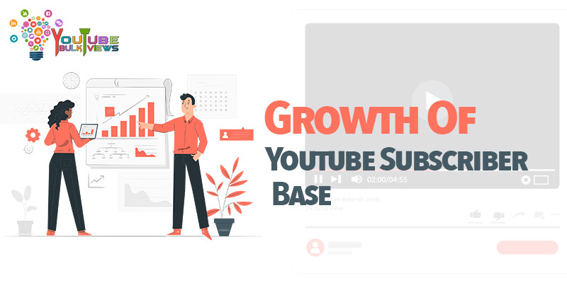 growth of youtube subscriber base